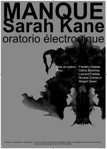 Manque(Sarah Kane) / Oratorio Electronique (2008)